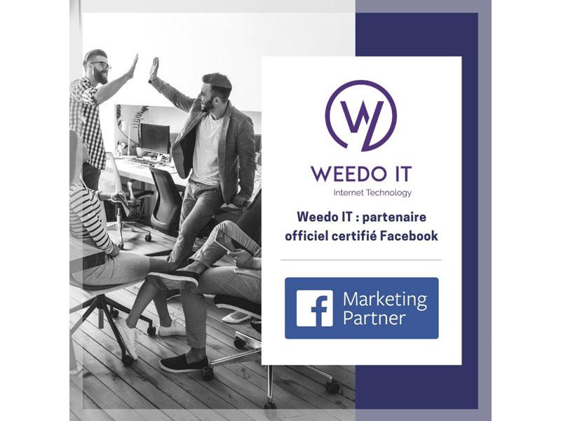 Weedo IT devient Facebook Marketing Partner