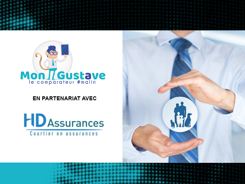 HD Assurances partenaire de Mon Gustave