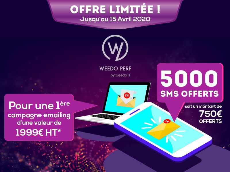 Offre Weedo PERF – Avril 2020