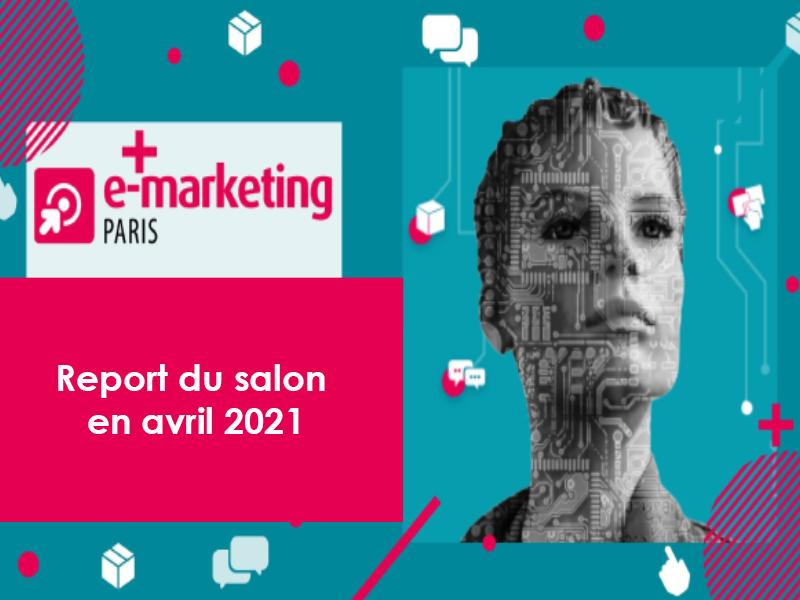 Weedo IT sera au salon E-marketing – Report en avril 2021