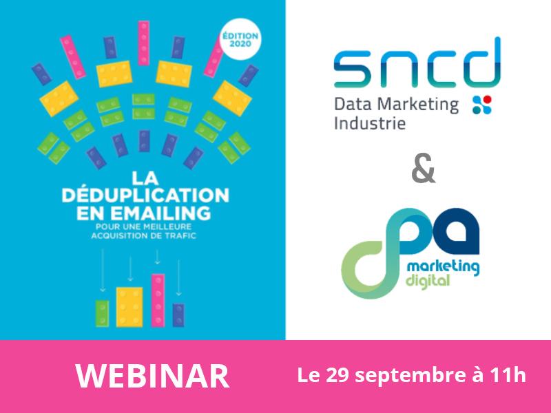 Webinar en partenariat avec le SNCD et le CPA