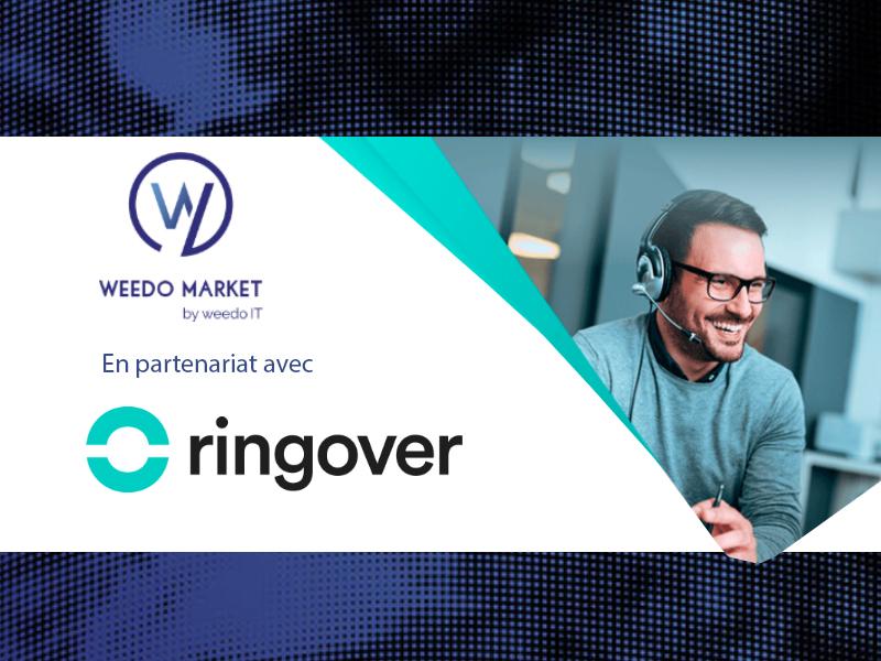 Weedo Market partenaire du groupe de téléphonie RingOver