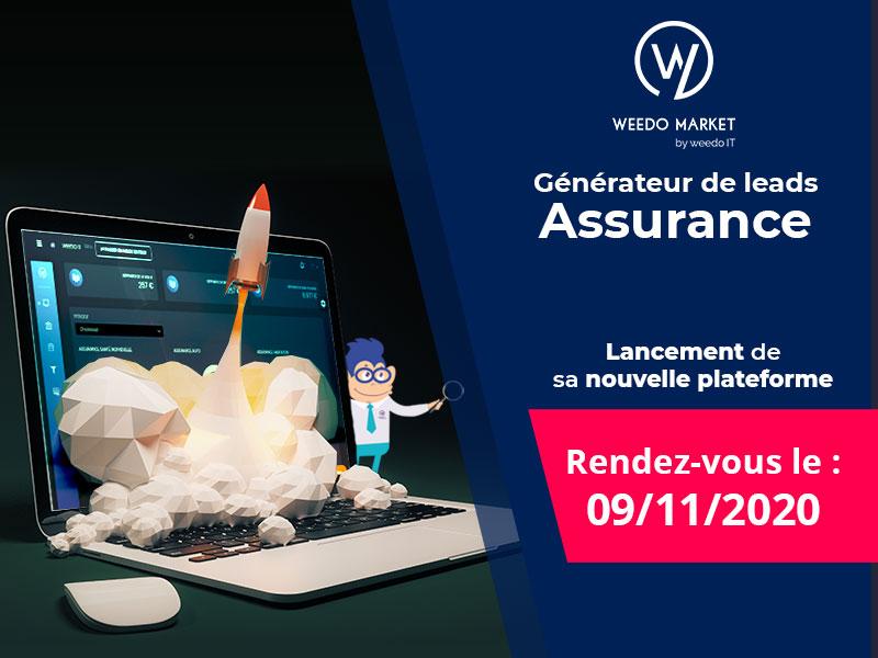 Rendez-vous le 09/11/2020 pour le lancement de la nouvelle plateforme Weedo Market