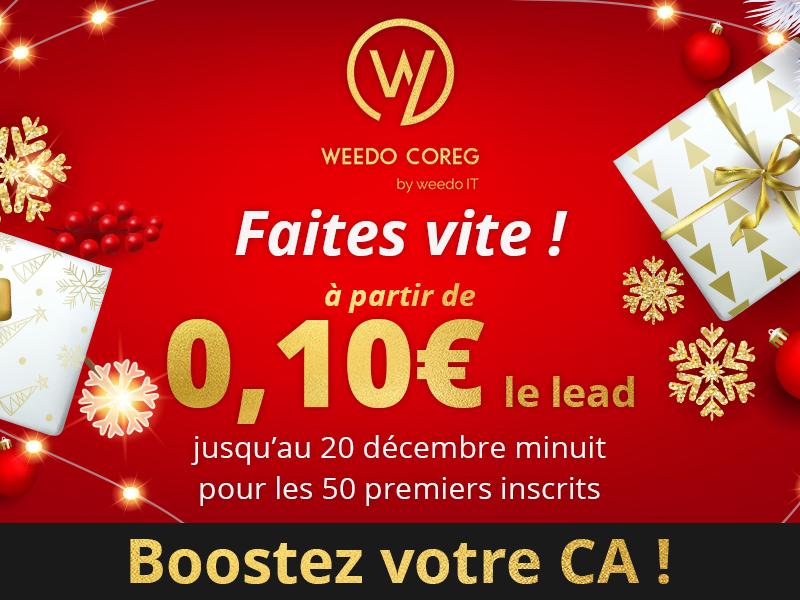 Boostez vos performances pour cette fin d'année avec Weedo Coreg