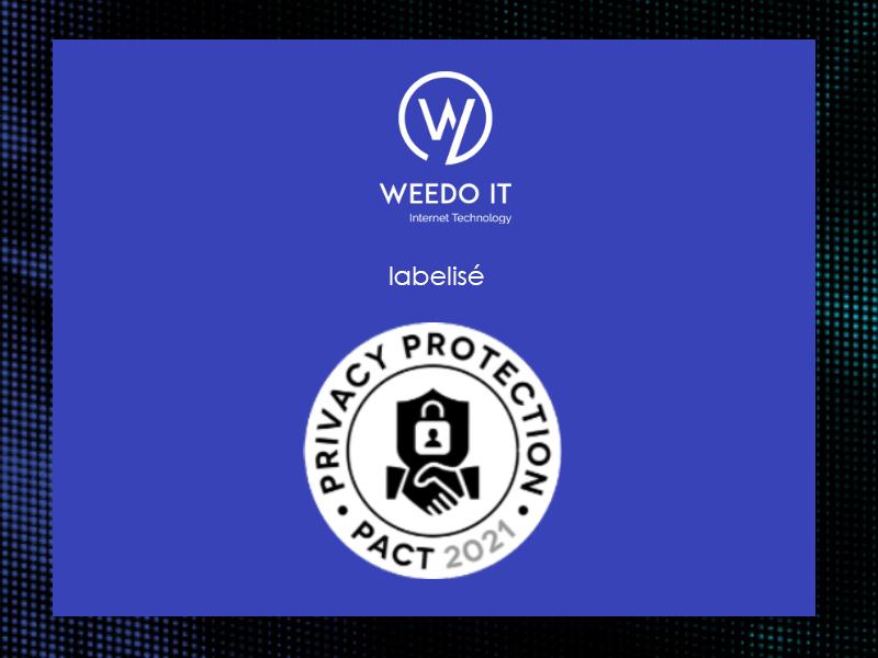 Weedo IT de nouveau labelisé Privacy Protection