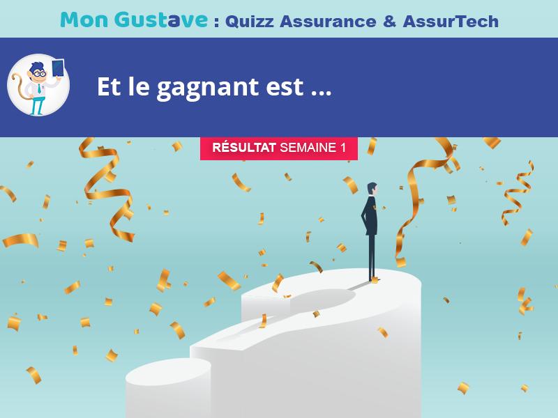 Jeu-concours Mon Gustave : Résultat semaine n°1