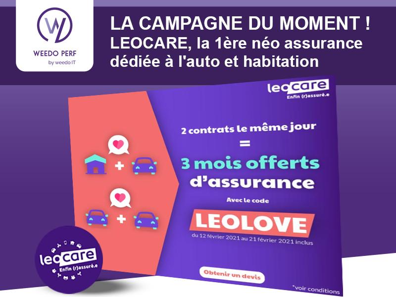 LEOCARE, la campagne du moment de Weedo PERF