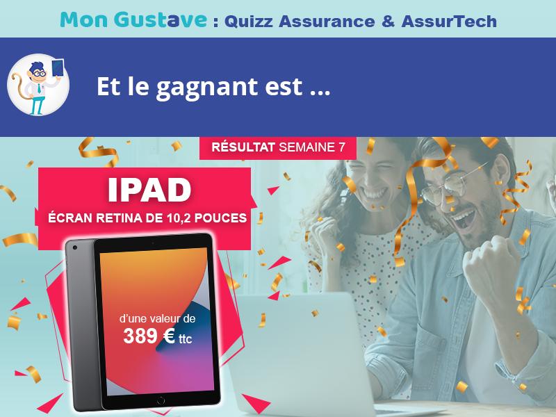 Jeu-concours Mon Gustave : Résultat semaine n°7
