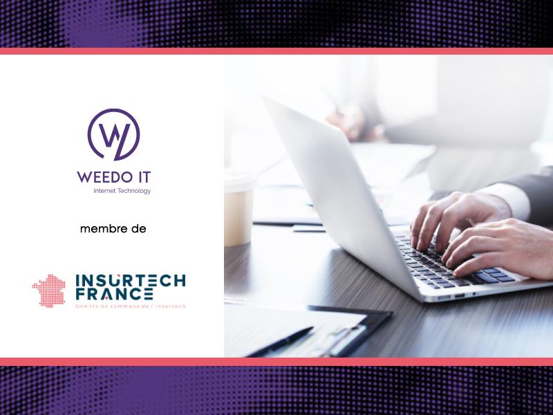 Weedo IT fait son entrée à l'Insurtech France !