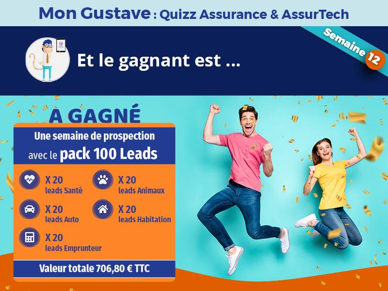 Jeu-concours Mon Gustave : Résultat semaine n°12