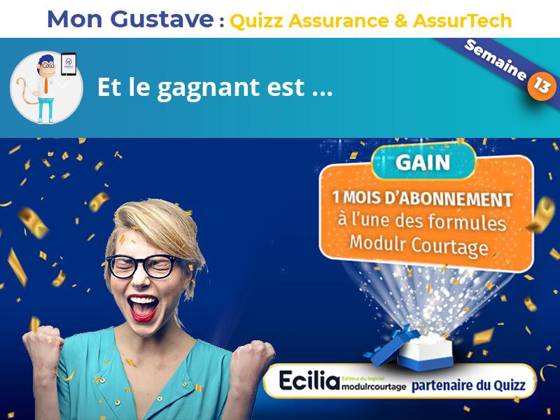 Jeu-concours Mon Gustave : Résultat semaine n°13