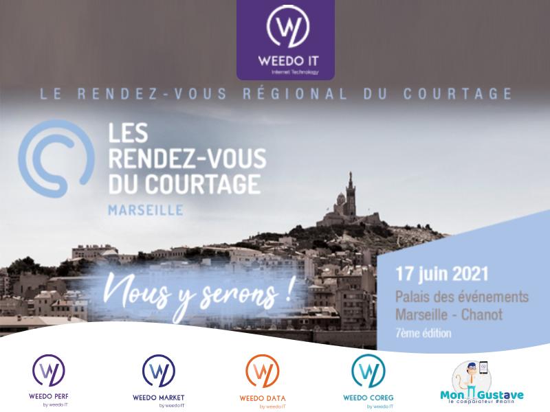 Save the date : Retrouvez Weedo IT le 17 juin 2021, au RDV du courtage à Marseille