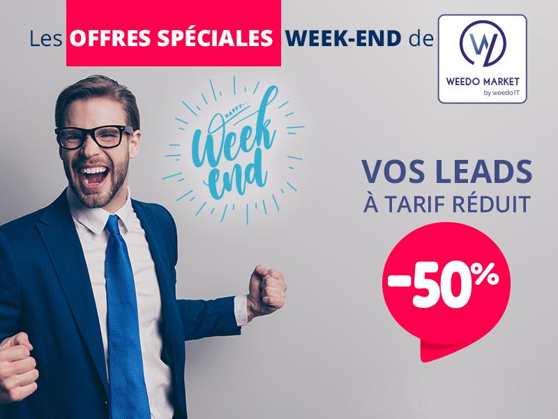 Vos leads à tarif réduit avec Weedo Market!