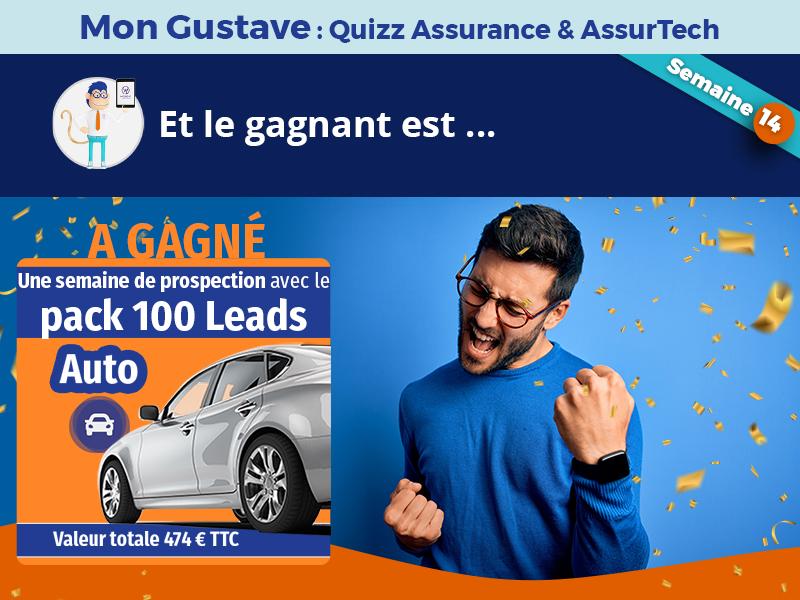 Jeu-concours Mon Gustave : Résultat semaine n°14