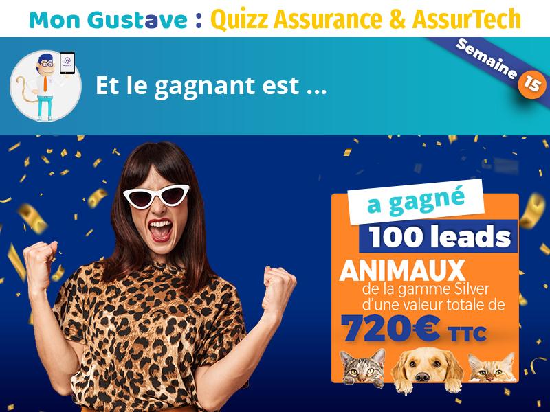 Jeu-concours Mon Gustave : Résultat semaine n°15
