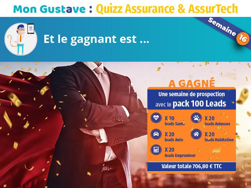 Jeu-concours Mon Gustave : Résultat semaine n°16