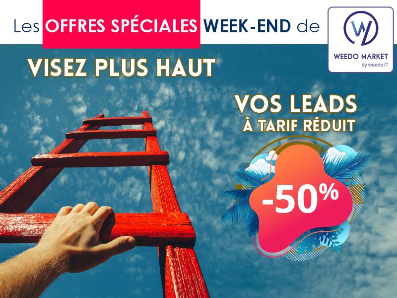 Visez plus haut avec les offres du week-end Weedo Market !