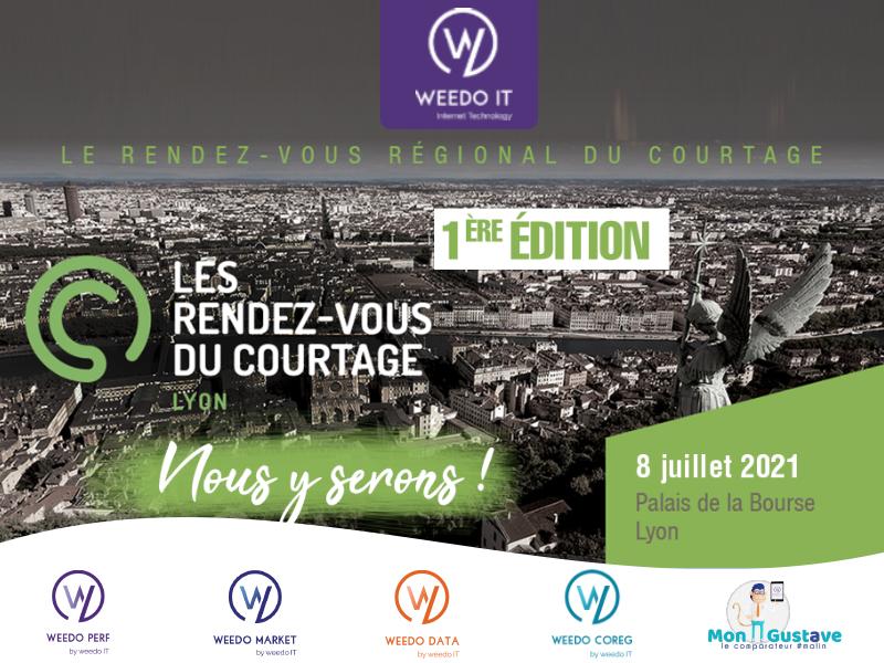 Retrouvez Weedo IT le 8 juillet 2021, au RDV du courtage à Lyon