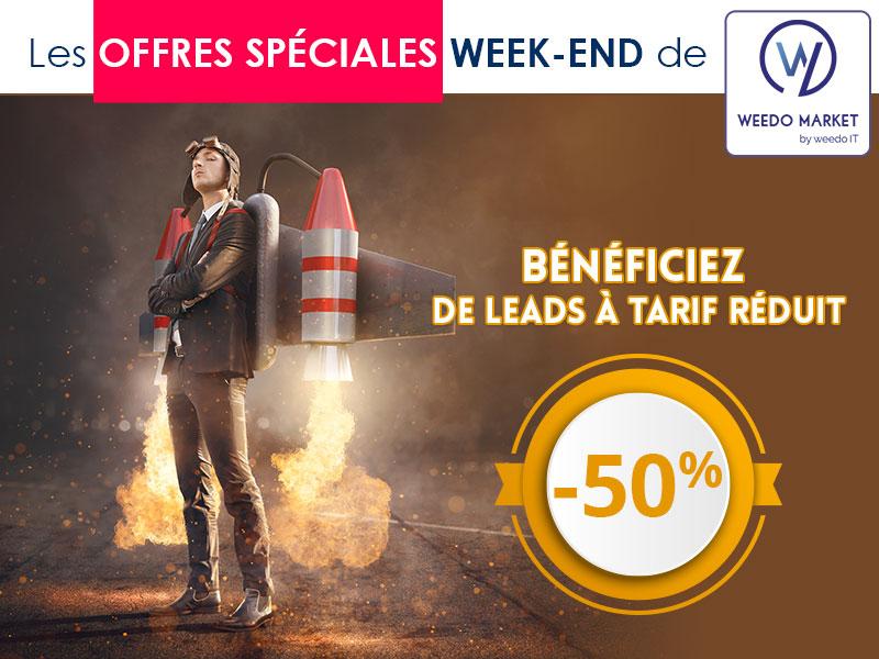 Bénéficiez des offres du week-end Weedo Market !