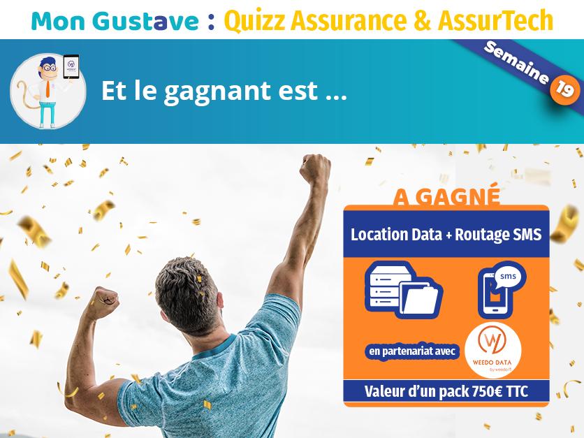 Jeu-concours Mon Gustave : Résultat semaine n°19