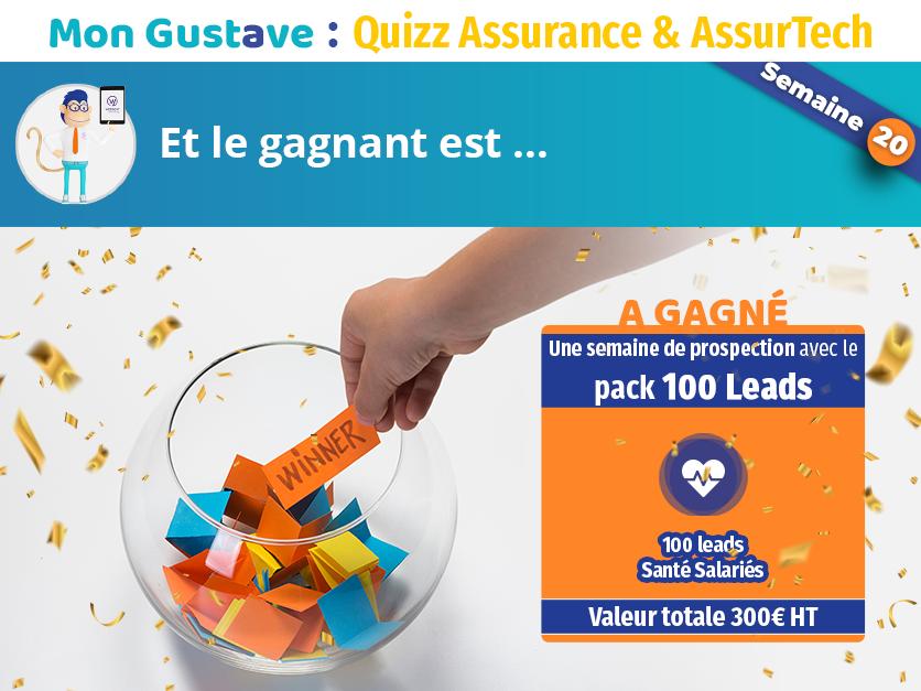 Jeu-concours Mon Gustave : Résultat semaine n°20