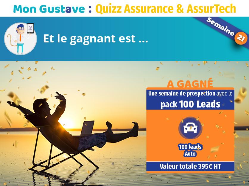 Jeu-concours Mon Gustave : Résultat semaine n°21