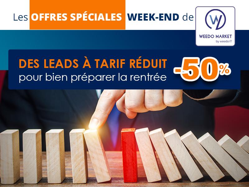 Préparez la rentrée avec les offres Weedo Market !