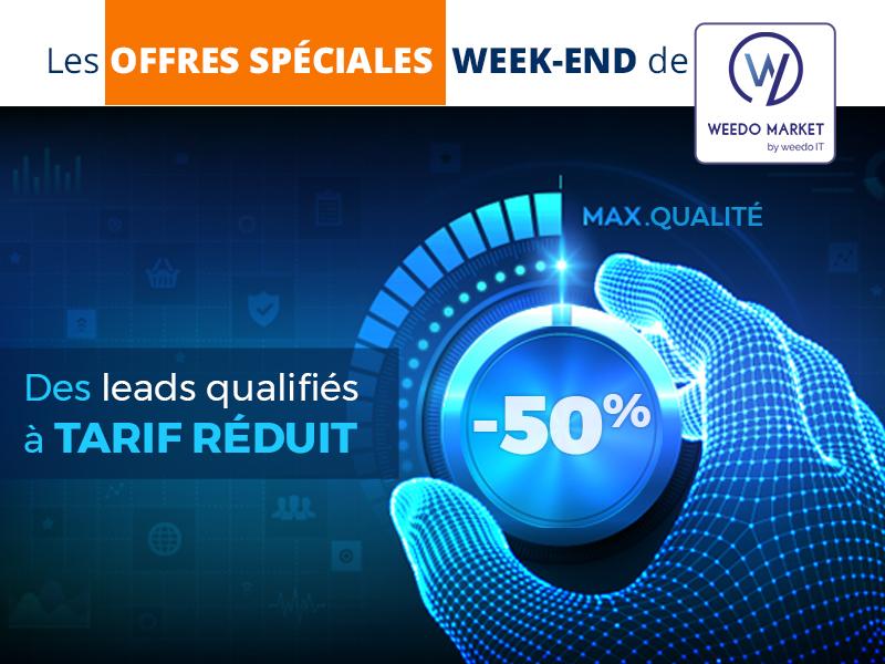 Profitez de leads de qualité avec les offres Weedo Market !