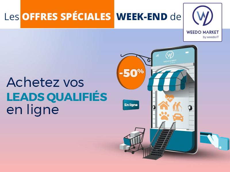 Achetez vos leads qualifiés en ligne avec les offres Weedo Market !