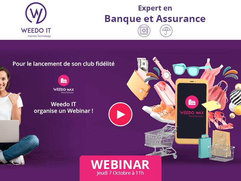 Webinar : lancement de WEEDO Max, le club de fidélité !