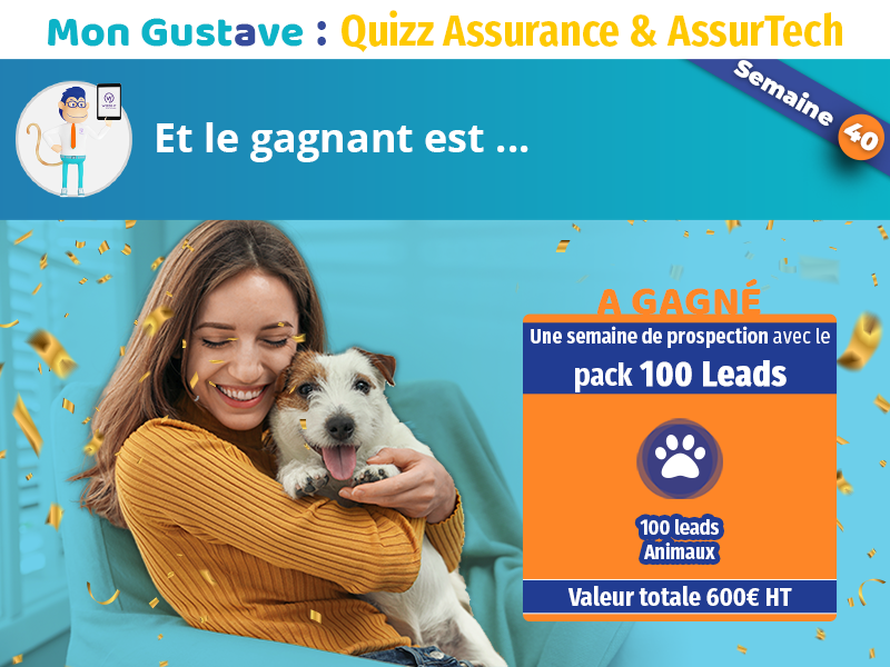 Jeu-concours Mon Gustave : Résultat de la semaine 40
